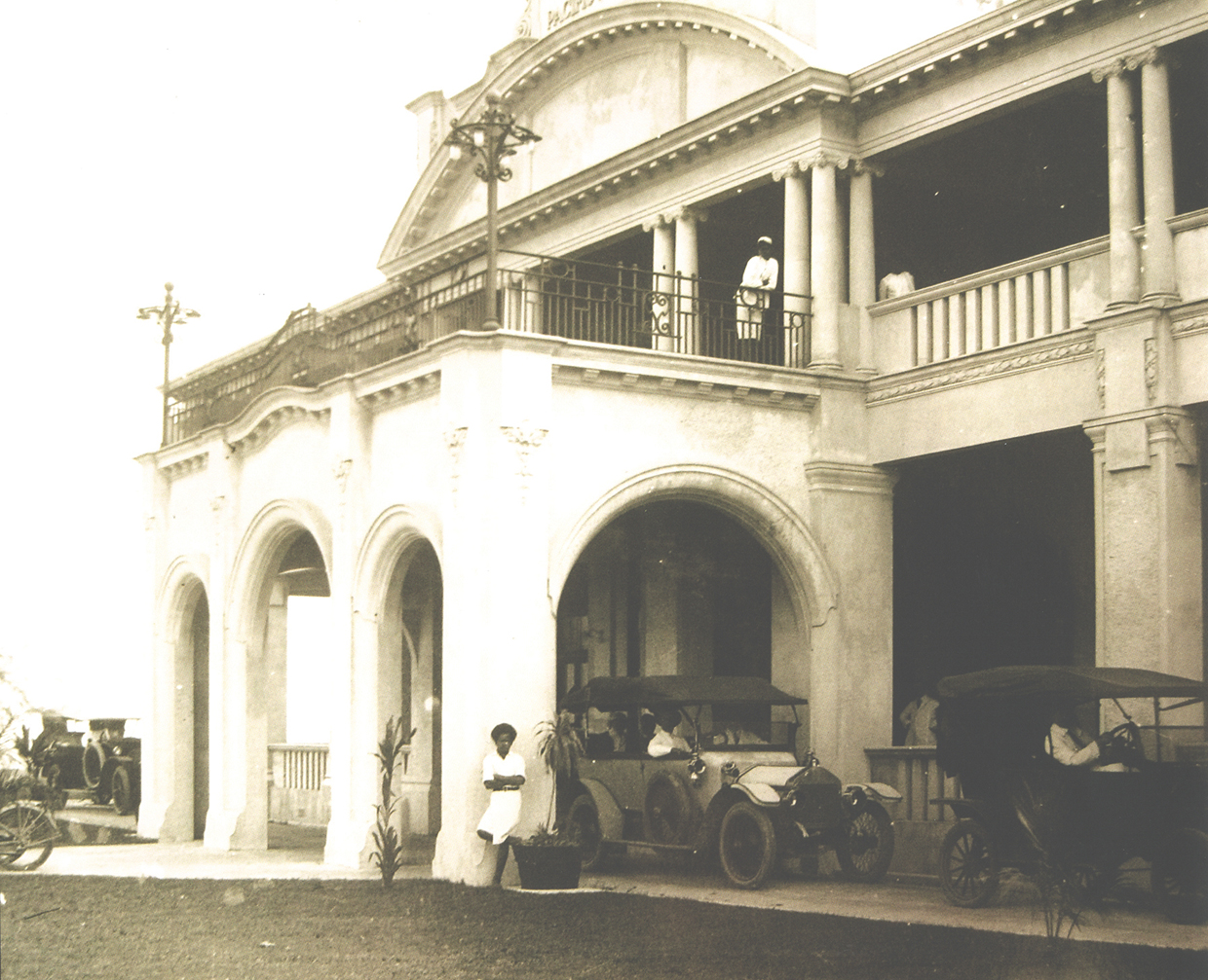 Old front